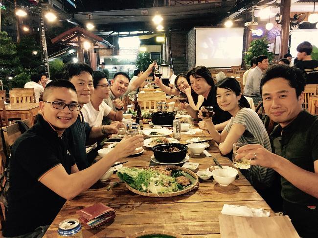 リンクアンドコミュニケーション様とベトナム駐在の日本人チーム